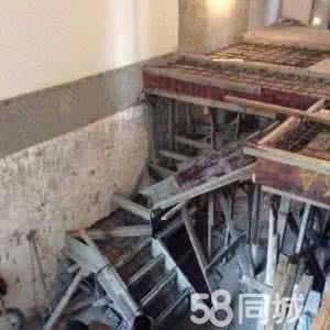 超越钢结构室内二层搭建钢结构楼梯制作