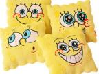 厂家批发海绵宝宝暖手抱枕暖手捂毛绒玩具创意暖手抱枕靠垫
