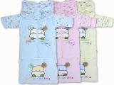 婴儿睡袋秋冬款加厚款四季通用防踢被婴儿定型枕可拆袖睡袋童