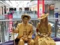 铜人活雕塑真人行为艺术老北京古铜人服装道具表演演出租出售