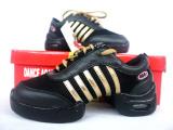 较新款 牛皮 网面现代舞蹈鞋 健美操 健身鞋 广场舞鞋