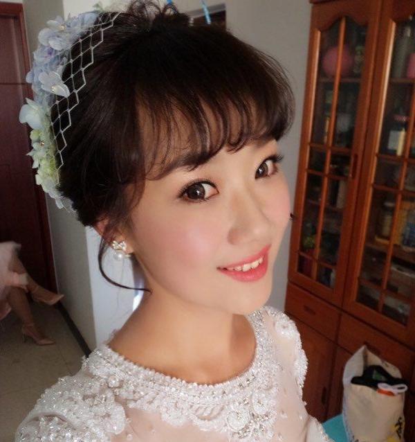 高端新娘跟妆 洁青美妆造型工作室