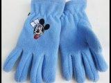 厂家直销 外贸原单出口 可爱保暖舒适儿童针织五指手套批发