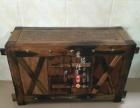 牡丹江厂家定做红木实木鱼缸底柜榆木鱼缸柜子顶帽水族箱鱼缸底座