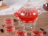 加厚耐热玻璃花茶壶过滤功夫茶具套装礼品条