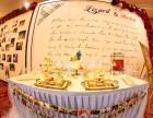主题婚礼甜品台翻糖蛋糕生日蛋糕生日宴甜品