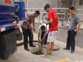 管道疏通,高压车清洗管道,管道清淤。