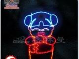 LED闪亮流星灯/LED中国结亮化照明/