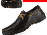 泉州批发头层牛皮男鞋英伦商务鞋休闲鞋大码鞋原单外贸鞋厂家直销
