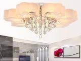 现代简约LED艺术水晶吸顶灯 客厅灯具卧室书房餐厅灯饰 YL-016-7