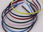 DIY发饰配件 5mm缠织带缠绕布发箍头箍 手工饰品材料 7色可选