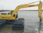 内蒙古鄂尔多斯市湿地挖掘机出租水上挖掘机租赁新产品租赁服务