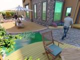 沈阳别墅庭院,花园设计施工