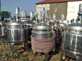 二手不锈钢储罐 不锈钢搅拌罐电加热 反应釜 立式储罐50立方