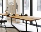 工业风餐厅桌椅 酒吧桌椅沙发 实木办公桌 厂家价格优惠