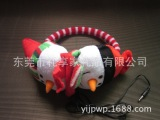 出口环保儿童保暖耳机 圣诞卡通耳机 毛绒耳机 音乐耳罩
