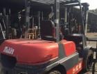 现出售3.5吨台励福柴油叉车原厂油漆,二手三门架叉车