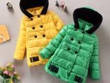 冬季新款韩版童装女童棉衣中长款中大童棉服外套潮