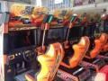 动漫城游戏机回收跳舞机赛车液晶屏模拟机整场设备回收