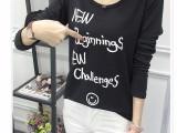 春季新款女装t恤长袖打底衫热卖韩版时尚女式上衣地摊批发网