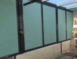 上海闵行区定做铝百叶窗帘闵行龙柏航华办公室木百叶遮阳卷帘定做