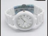 2014新款上市 韩版时尚女士陶瓷手表 爆款外贸男士陶瓷表批发直