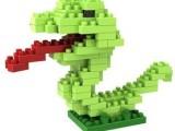俐智 loz小颗粒迷你钻石积木 拼装插儿童益智力玩具贪吃蛇930