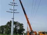 河北供应110KV输电钢杆价格 单回路钢管杆生产厂家