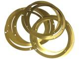 黄铜垫片紫铜平垫圈 超薄铜垫 调整间隙片介子