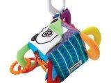 Lamaze获奖玩具四方铃铛积木牙胶响纸-床挂婴儿玩具小鸟款