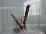 椭圆形筷子筒 家居不锈钢刀叉筒筷子笼可挂式沥水置物架