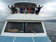 夏季游艇出海兜风 烧烤 鱼疗 单车深圳海边休闲度假胜地