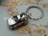 高档四轮德国小汽车钥匙扣钥匙链男女礼品礼物汽车钥匙扣定制logo