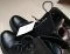 德家低价转让二手全新黑色加绒妈妈版马丁靴