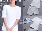 2014新款套装女 章子怡明星同款春夏装修身套装 新款套装女款