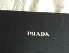 Prada男士长款蓝色牛皮钱包,海外购得现低价转让