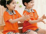 2015夏季新款儿童童装定制幼儿园小学中学校服园服班服定做