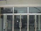 安装玻璃隔断定做 钢化玻璃门 玻璃门锁
