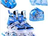 正品批发14年新款正品伴威906儿童轮滑鞋套装闪光轮旱冰鞋溜冰鞋