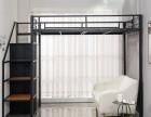 出售北歐簡約現代鐵藝高架床,支持定制