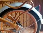 久捷自行车一辆,九点五成新,买后只骑过两次,车子造型优雅美观