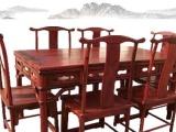 供应王义古典餐厅全套 实木家具 红木餐桌