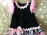 超级大牌 欧美婴儿摄影服装 宝宝礼服裙 原单尾货无吊牌 只批国外