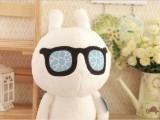厂家订做疯狂的兔子毛绒玩具 兔八哥 玩偶可爱娃娃公仔 广告礼品