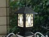 顺华名城热销欧式柱头围墙灯户外防水庭院灯 LED门柱灯 厂家直销