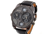 Oulm运动石英手表 军事武装风酷劲男表中性男学生手表速卖通热卖