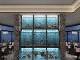 湘潭海鮮池1.5米款制作 飯店養魚池制作