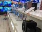 因沃尔玛电脑展示柜台替换,现急售双层电脑...