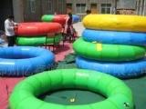 大型冲气玩具,充气游泳圈,充气滑道圈