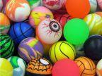 混装儿童玩具橡胶弹力球 眼睛球魔眼球西瓜球蜘蛛侠 扭蛋机专用